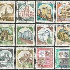 Sellos: ITALIA - VARIOS AÑOS - LOTE DE 46 SELLOS USADOS. Lote 167578088