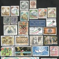 Sellos: ITALIA - VARIOS AÑOS - LOTE DE 27 SELLOS USADOS. Lote 167633108