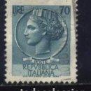 Sellos: S-4064- ITALIA. ITALY. REPUBLICA ITALIANA. . Lote 168385612