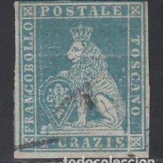 Sellos: TOSCANA, 1889 YVERT Nº 13. Lote 207001690