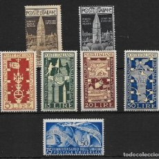Sellos: ITALIA. YVERT NUM. 93/94-532/35**-538**.. Lote 171018972