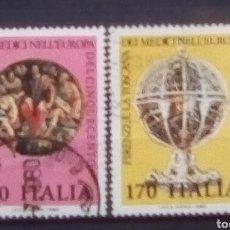Sellos: ITALIA ARTE SERIE DE SELLOS USADOS. Lote 171106777
