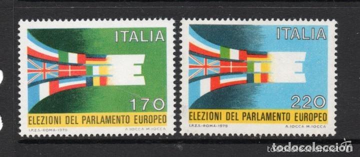 ITALIA 1979 IVERT 1391/92 *** ELECCIONES DEL PARLAMENTO EUROPEO (Sellos - Extranjero - Europa - Italia)