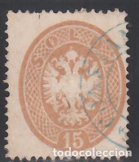 LOMBARDO -VÉNETO, 1863 YVERT Nº 22 (Sellos - Extranjero - Europa - Italia)