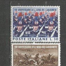 Sellos: ITALIA YVERT NUM. 904/905 ** SERIE COMPLETA SIN FIJASELLOS. Lote 183320100