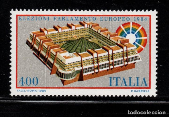ITALIA 1610** - AÑO 1984 - ELECCIONES AL PARLAMENTO EUROPEO (Sellos - Extranjero - Europa - Italia)