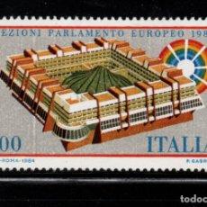 Sellos: ITALIA 1610** - AÑO 1984 - ELECCIONES AL PARLAMENTO EUROPEO. Lote 173219388