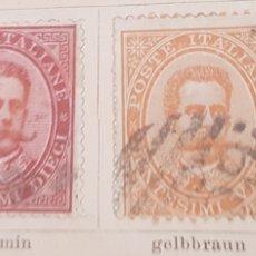 Sellos: SELLOS ANTIGUOS DE ITALIA 1879-88. Lote 173591187