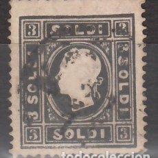 Sellos: ITALIA, ESTADOS. LOMBARDO-VÉNETO, 1858-62 YVERT Nº 6A,. Lote 176375192