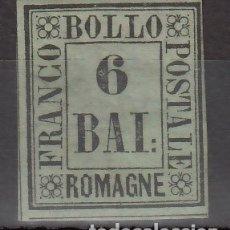 Sellos: ITALIA, ESTADOS. ROMAÑA, 1859 YVERT Nº 7 /*/ . Lote 176378094