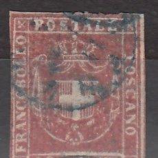 Sellos: ITALIA, ESTADOS. TOSCANA, GOBIERNO PROVISIONAL 1860 YVERT Nº 21.. Lote 176385707