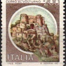 Sellos: ITALIA - UN SELLO - IVERT:#IT-1445 - ***C A S T I L L O S*** - AÑO 1980 - USADO. Lote 176430007