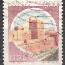 Sellos: ITALIA - UN SELLO - IVERT:#IT-1447 - ***C A S T I L L O S*** - AÑO 1980 - USADO. Lote 176433348