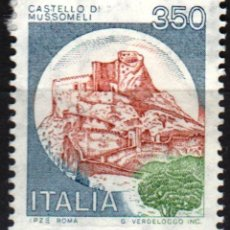 Sellos: ITALIA - UN SELLO - IVERT:#IT-1448 - ***C A S T I L L O S*** - AÑO 1980 - USADO. Lote 176434193