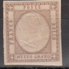 Sellos: ITALIA, ESTADOS. NAPOLES, 1861 YVERT Nº 11 /*/ . Lote 176586744