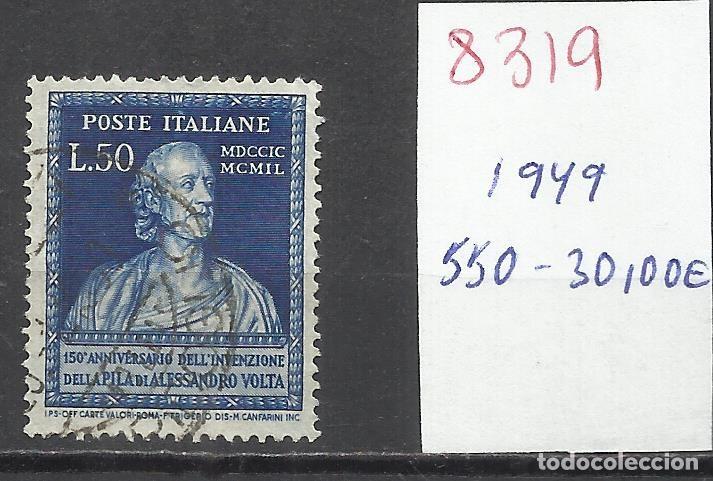8319-SELLO ITALIA CLAVE ESCASO 1949 Nº 550 VALOR 30,00€ (Sellos - Extranjero - Europa - Italia)