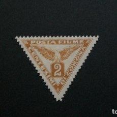 Sellos: FIUME / OCUPACION ITALIANA-1919-PERIODICOS 2C. Y&T 1**(MLH). Lote 179210803