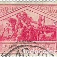 Sellos: SELLO USADO DE ITALIA, YT 268, FOTO ORIGINAL. Lote 180873060