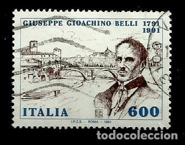 ITALIA SELLO USADO 1991 (Sellos - Extranjero - Europa - Italia)