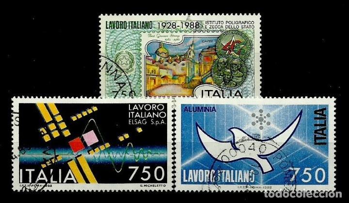 ITALIA SELLO USADO 1988 (SERIE COMPLETA) (Sellos - Extranjero - Europa - Italia)
