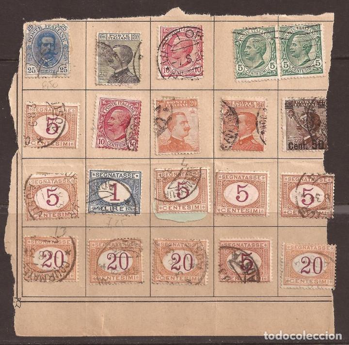 Sellos: ANTIGUOS SELLOS DE ITALIA MAS OTROS NUEVOS ITALIA Y VATICANO. VER IMAGENES. - Foto 2 - 182472135