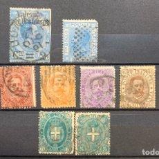 Sellos: FICHA CON SELLOS DE LOS AÑOS 1867/82 ITALIA. Lote 182806575