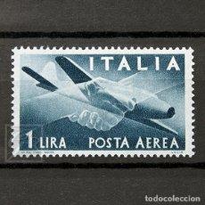 Sellos: ITALIA 1945 ~ CORREO AÉREO: AVIÓN CAPRONI-CAMPIN 1L ~ SELLO NUEVO MNH BUENO. Lote 130985276