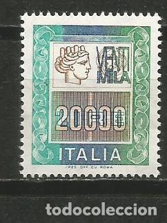 ITALIA YVERT NUM. 1733 ** SERIE COMPLETA SIN FIJASELLOS (Sellos - Extranjero - Europa - Italia)