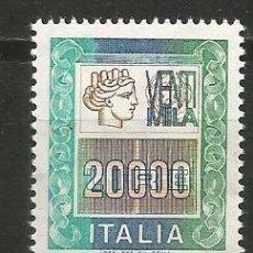 Sellos: ITALIA YVERT NUM. 1733 ** SERIE COMPLETA SIN FIJASELLOS. Lote 185958863