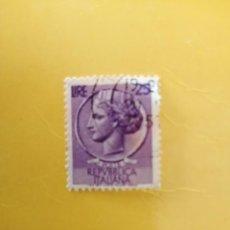 Sellos: ITALIA - 25 LIRE - LIRAS - ANTIGUA MONEDA DE SIRACUSA - YT 652. Lote 185983858