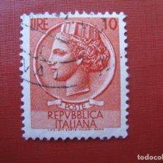 Sellos: -ITALIA 1953, YVERT 649. Lote 186207612