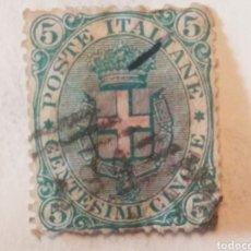Sellos: 5 CENTESIMI ITALIA. Lote 187126251