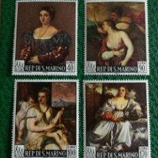 Sellos: SAN MARINO N°865/68 MNH (FOTOGRAFÍA REAL). Lote 189343963