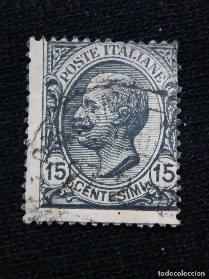 POSTE ITALIA, 15 CENT, FRANCOBOLLO, AÑO 1919. (Sellos - Extranjero - Europa - Italia)