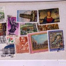 Sellos: LOTE DE 22 SELLOS USADOS ITALIA. Lote 189963851