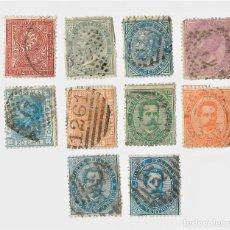 Sellos: COLECCIÓN LOTE DE 190 SELLOS DE ITALIA DE LUJO, COMIENZA 1863. NUEVOS Y USADOS. 10 FOTOS.. Lote 190414206