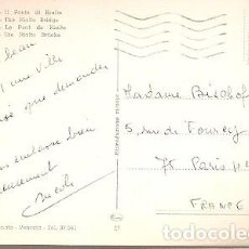 Sellos: ITALIA & CIRCULADO, VENEZIA, CANAL GRANDE, IL PONTE DI RIALTO, PARÍS FRANCIA 1970 (27). Lote 191348582