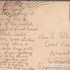 Sellos: ITALIA & CIRCULADO, DUOMO MILÁN, WORCESTERSHIRE, BROADWAY INGLATERRA 1909 (740). Lote 191360901