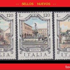 Sellos: LOTE SELLOS NUEVOS - SERIE FUENTES DE ITALIA 1978 - AHORRA GASTOS COMPRA MAS SELLOS. Lote 191651048