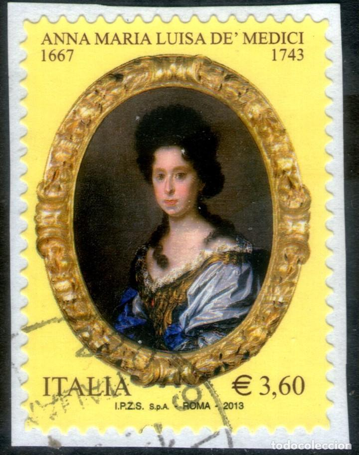 SELLO USADO DE ITALIA CORREOS YVERT Nº 3351 (Sellos - Extranjero - Europa - Italia)