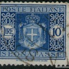 Sellos: SELLO USADO DE ITALIA TASA YVERT Nº 63. Lote 193112055