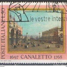Sellos: ITALIA // YVERT 1020 // 1968 ... USADO. Lote 194215212
