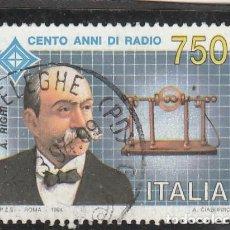 Sellos: ITALIA 1994 - YVERT NRO. 2046 - USADO. Lote 194344033