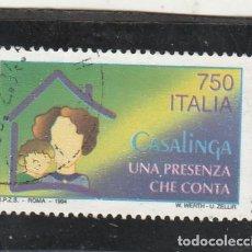 Sellos: ITALIA 1994 - YVERT NRO. 2043 - USADO. Lote 194344167