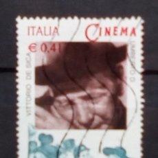 Sellos: ITALIA 2002 CENTENARIO DEL CINE SELLO USADO €. Lote 194389603