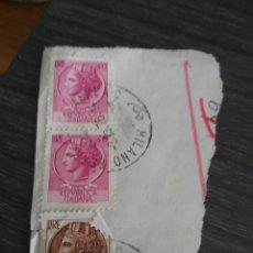 Sellos: SELLO LIRE 40 REPUBLICA ITALIANA USADO. Lote 194568166
