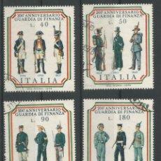 Sellos: ITALIA - LOTE SELLOS UNIFORMES, 200 ANIV. DE GUARDIA FINANCIERA - VISITA MIS OTROS LOTES. Lote 194970481