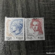 Sellos: ITALIA 2002.. Lote 195076175