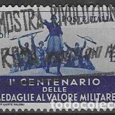 Sellos: SELLO USADO DE ITALIA, YT 353 FOTO ORIGINAL. Lote 195937535