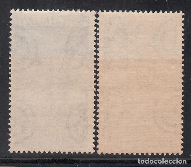 Sellos: ITALIA, 1950 YVERT Nº 561 / 562 /**/, Palacio de Signoria, Monumento a Colón, Castillo de Rapallo - Foto 2 - 196259728